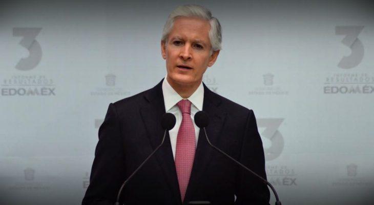 Estado de México; gobierno de pantalla y gobernador ausente