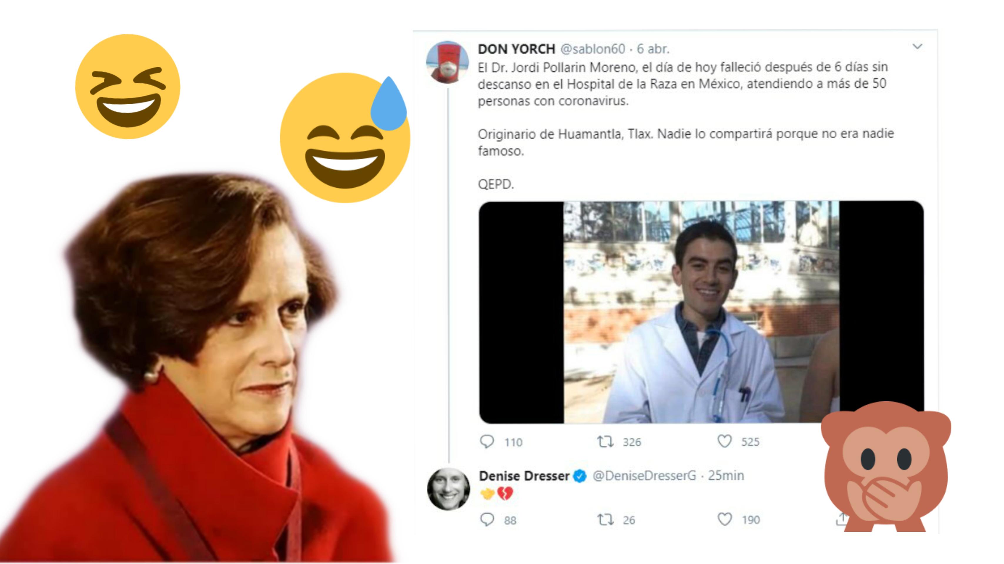 Actor Porno Famoso Español otra vez denise dresser! confunde actor porno con médico